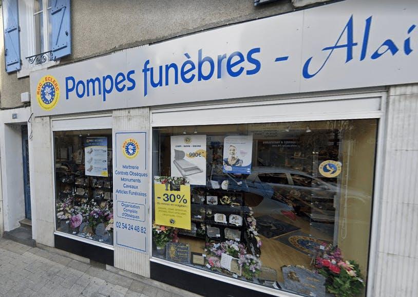 Photographie Pompes Funèbres Roc-Eclerc d'Argenton-sur-Creuse
