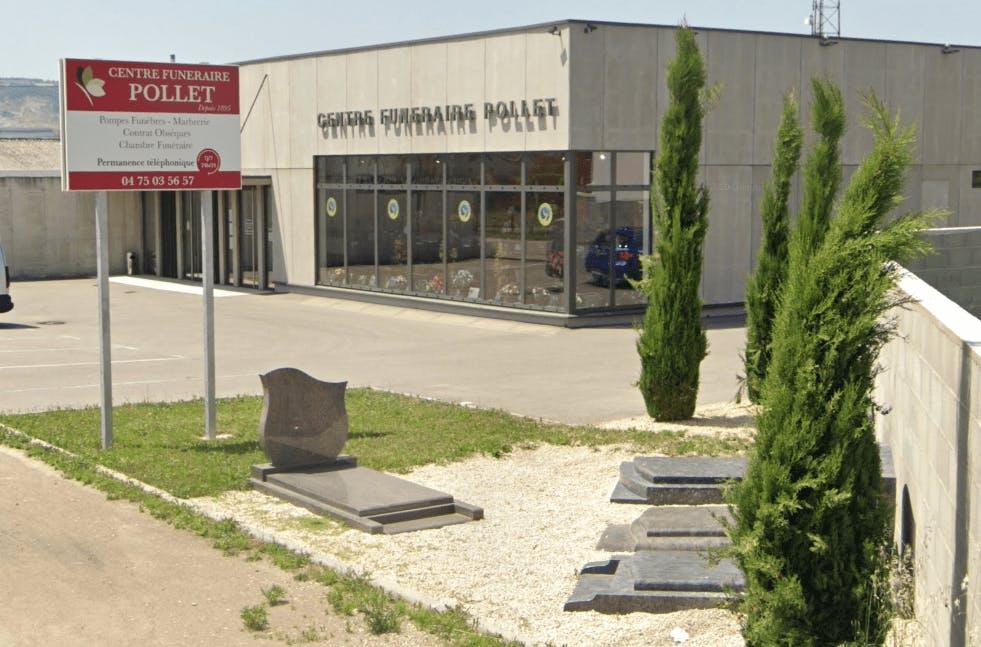 Photographie de la Centre Funéraire POLLET