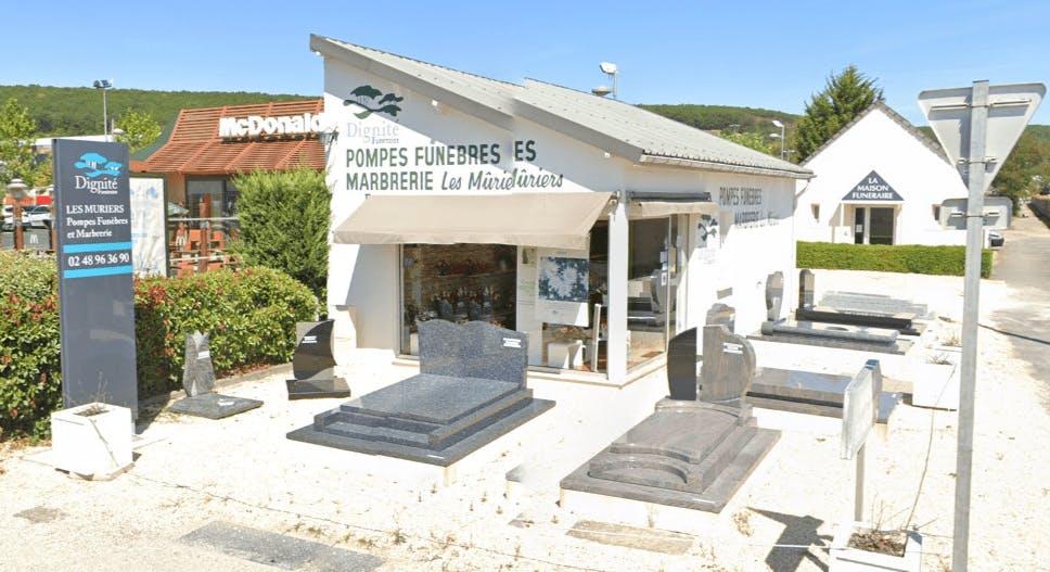 Photographie Pompes Funèbres et Marbrerie Les Muriers de Saint-Amand-Montrond