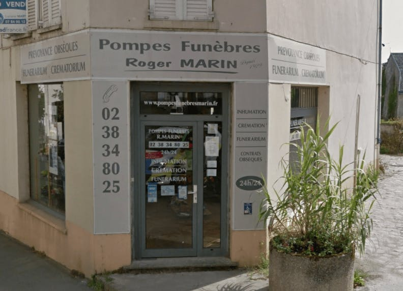 Photographie Pompes Funèbres et Marbrerie Roger MARIN de Malesherbes