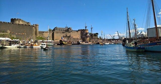 port militaire à Brest