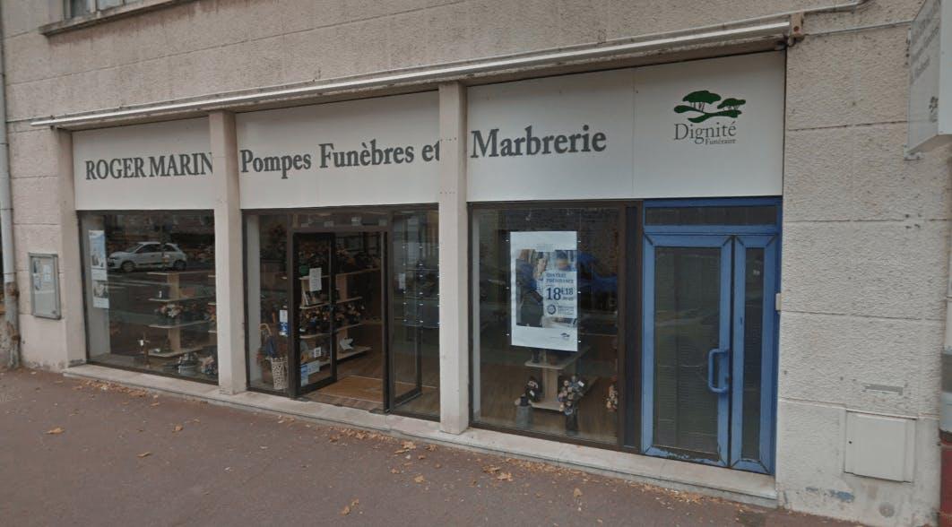 Photographie Pompes Funèbres et Marbrerie Roger Marin de Pithiviers
