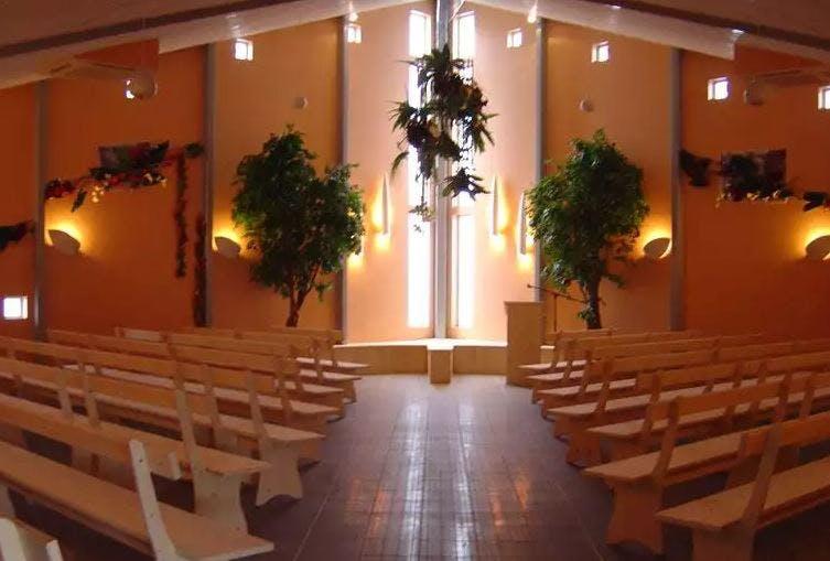 Salle de cérémonie de la Chambre funéraire Besset
