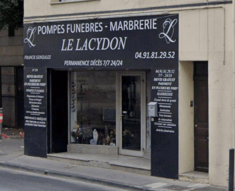Photographie de la Pompes funèbres et marbrerie Le Lacydon