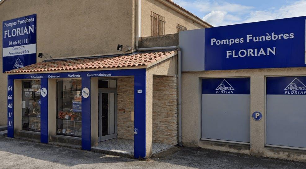 Photographie Pompes Funèbres Florian de Nîmes