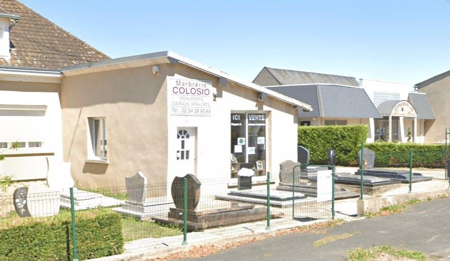 Photographie Marbrerie COLOSIO de Châtillon-sur-Indre