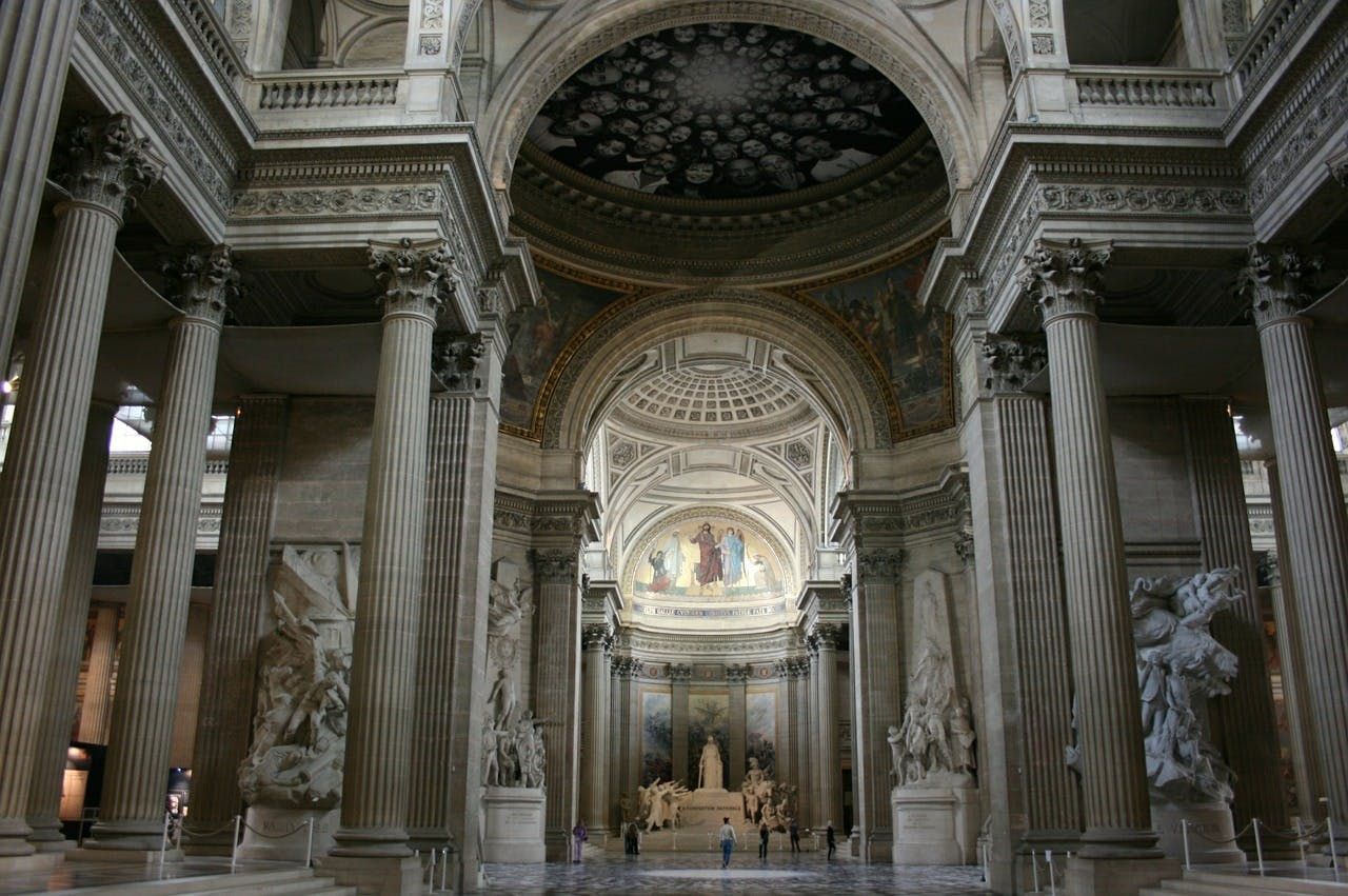 pantheon de paris interieur