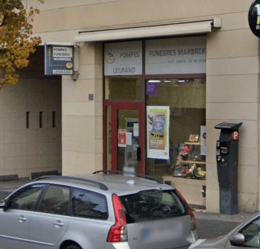 Photographie Pompes Funèbres et Marbrerie Joanick Legrand de Rennes