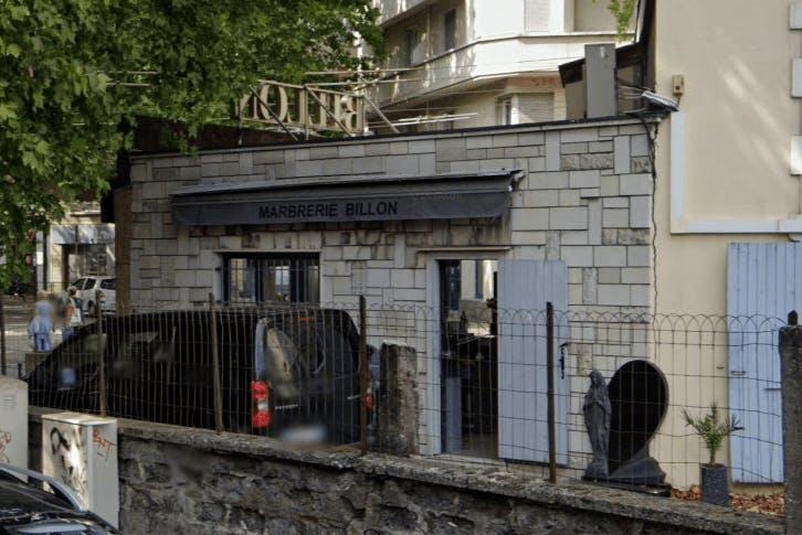 Photographie Marbrerie Billon de Grenoble