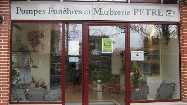 Photo de la Pompe Funèbre Pompes Funèbres et Marbrerie Pêtre