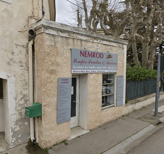 Photographie de la Pompes Funèbres Nemrod