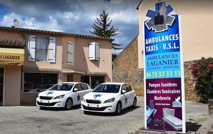 Photo de la Pompe Funèbre Ambulance taxis Laganier