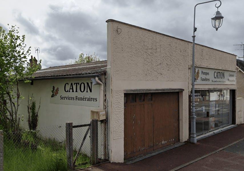 Photographie de la Pompes Funèbres CATON