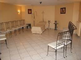 Présentation salon funéraire de la Chambre funéraire Goupil