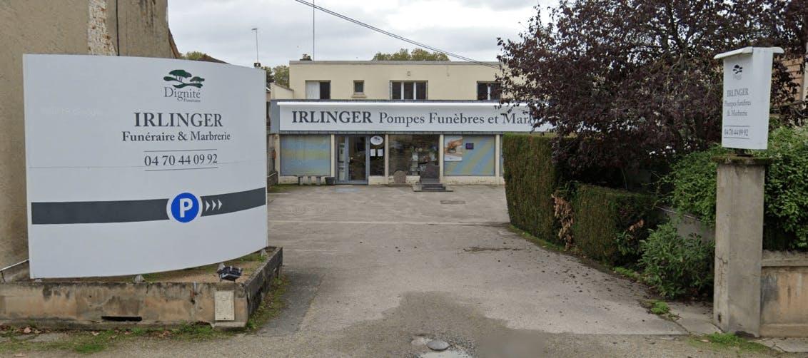 Photographie de la Pompes Funèbres et Marbrerie Irlinger