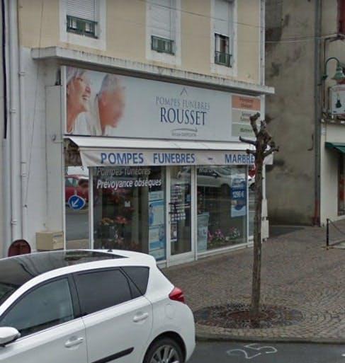 Photographie Pompes Funebres Rousset de Pontaumur