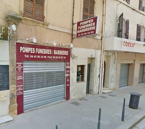 Photo de la Pompe Funèbre Provence azur funéraire
