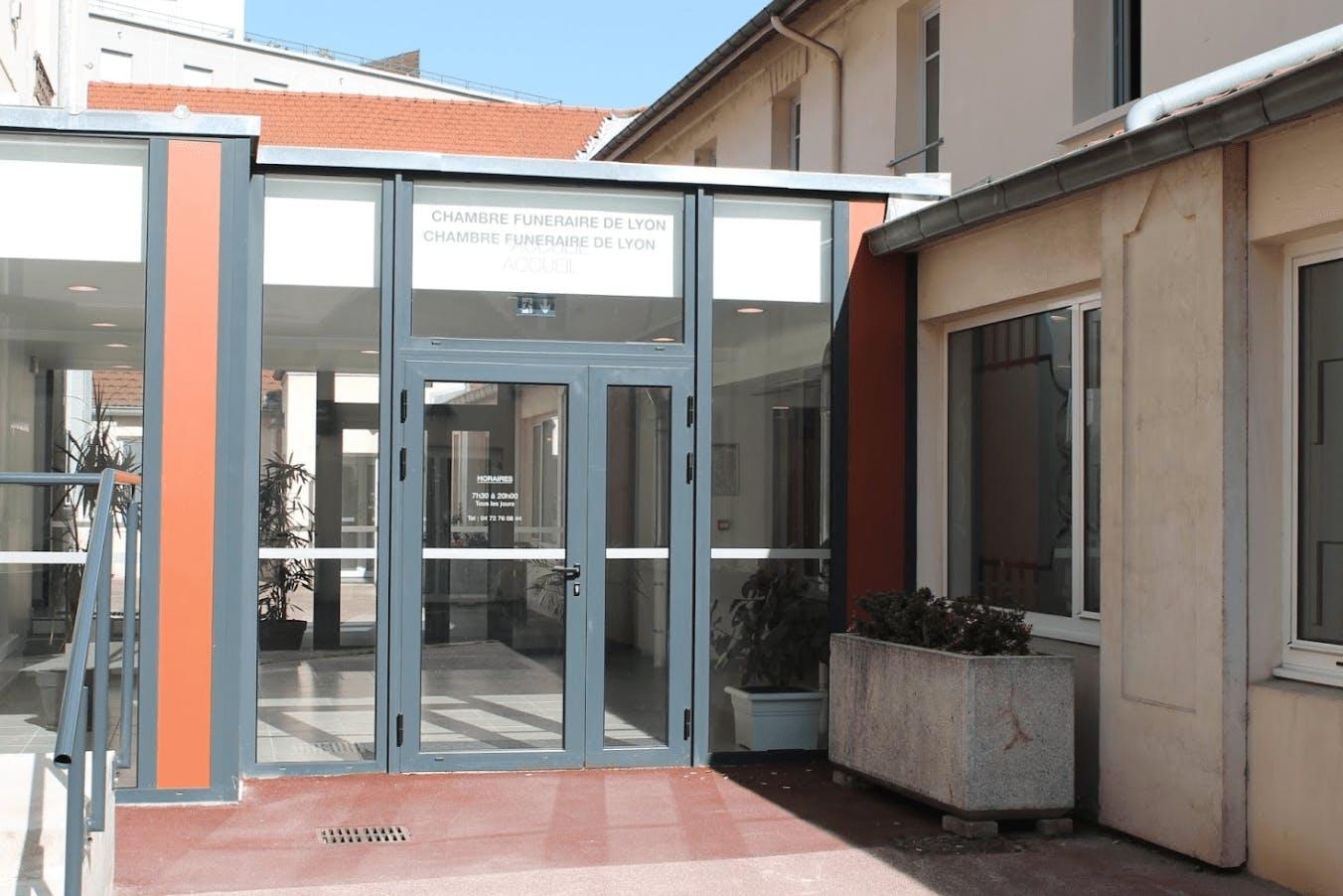 Photographie de la Chambre Funéraire de Lyon