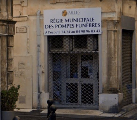 Photographie Pompes Funèbres de la ville d'Arles