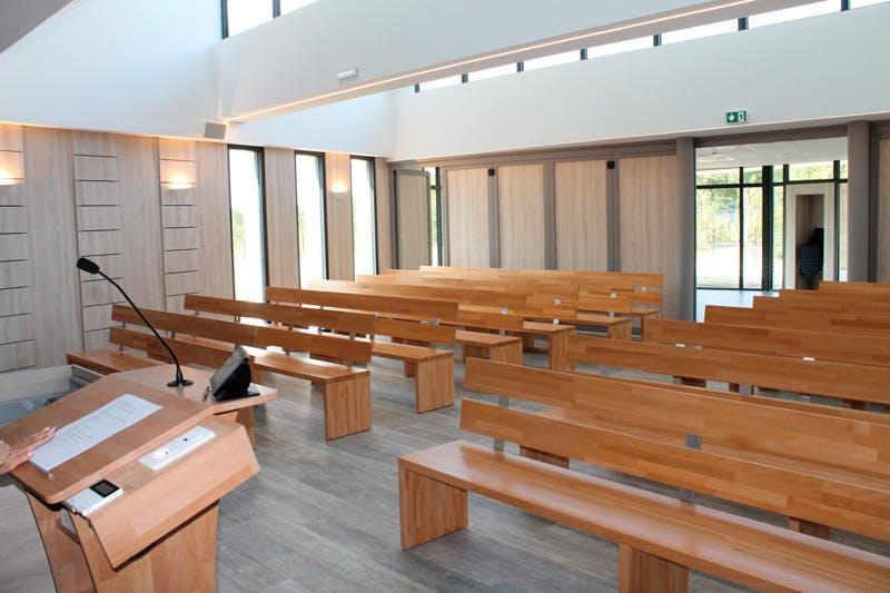 crematorium de lacq orthez salle de cérémonie