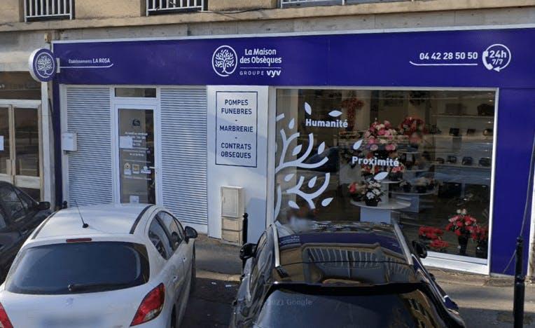 Photographie Pompes Funèbres du Sud-Est-Ets La Rosa d'Aix-en-Provence