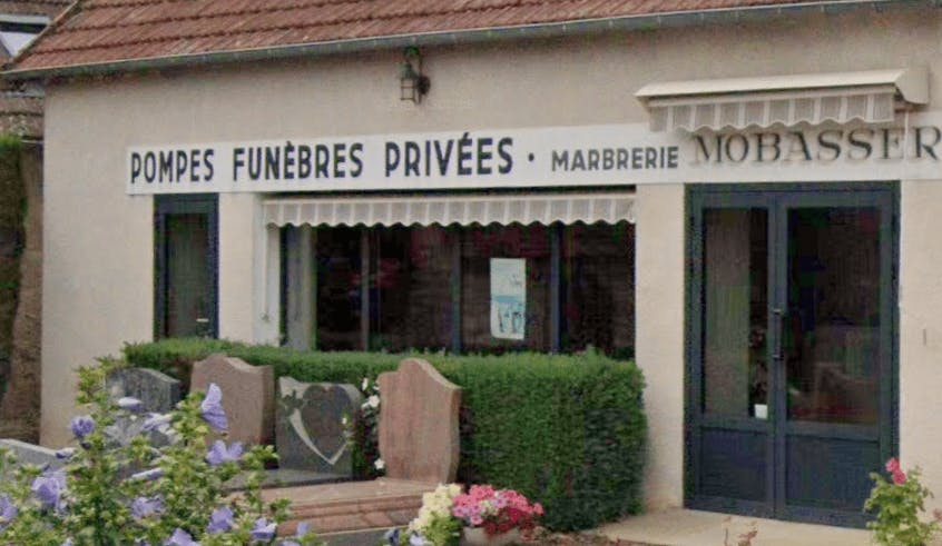 Photographie Pompes Funèbres et Marbrerie Mobasser Branger de Boulleret