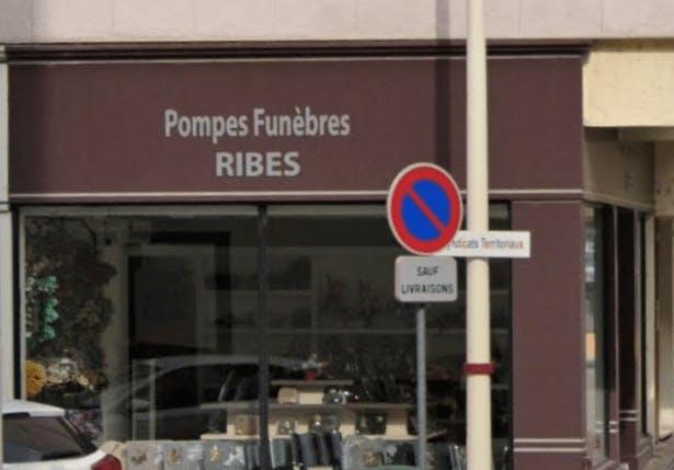 Photographie de la Pompes Funèbres Ribes