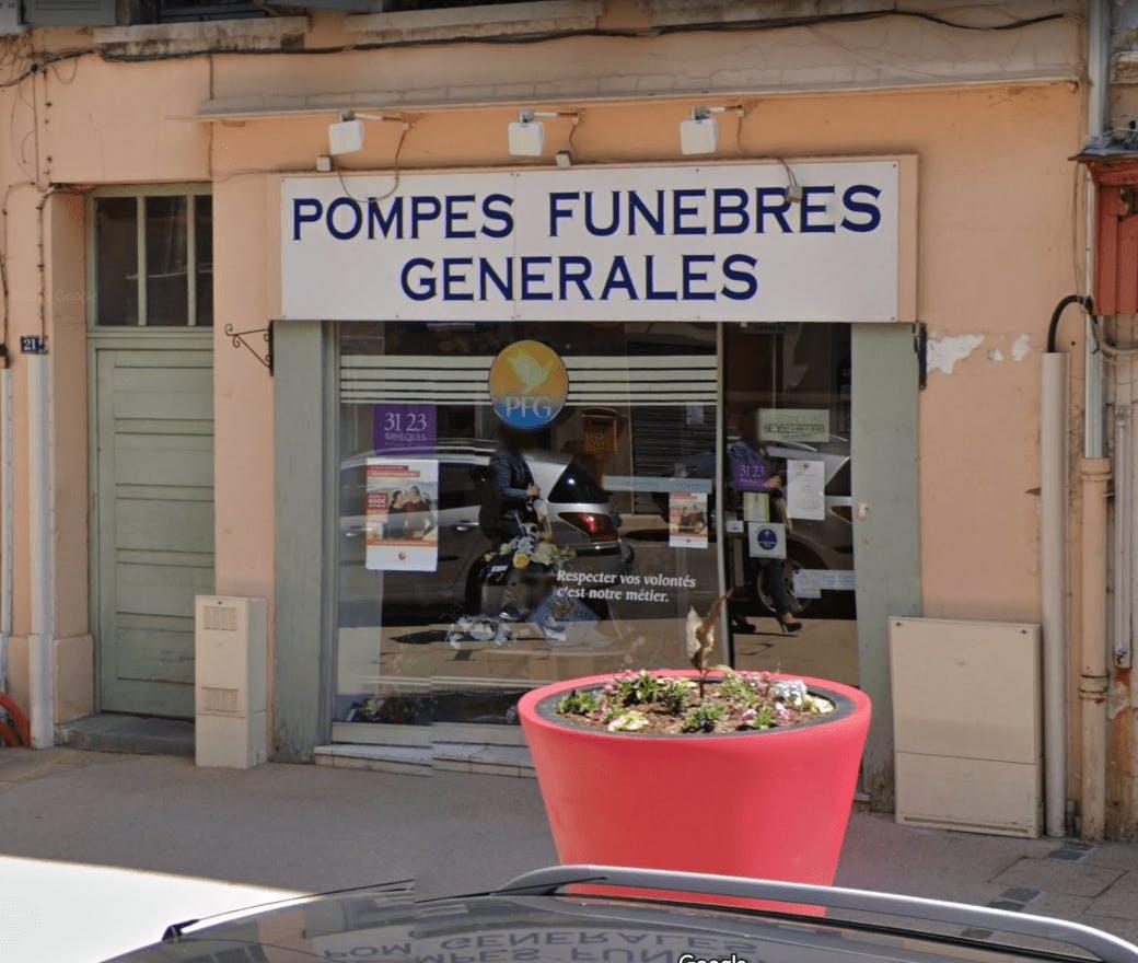 Photo de la Pompe Funèbre PFG SERVICE FUNERAIRE