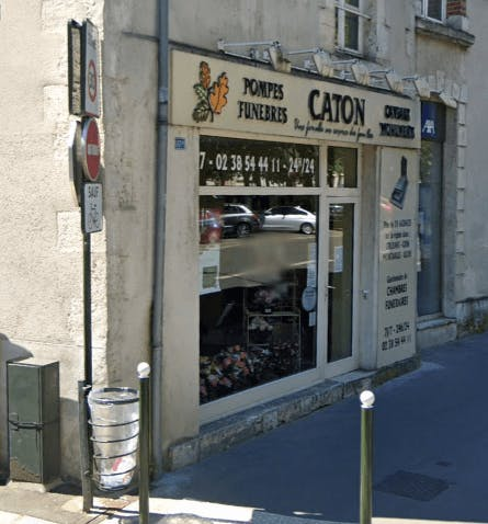 Photographie Pompes Funèbres Caton d'Orléans