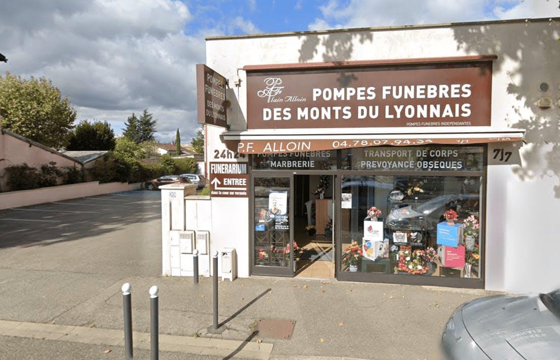Photographie de la Chambre funéraire des Monts du Lyonnais