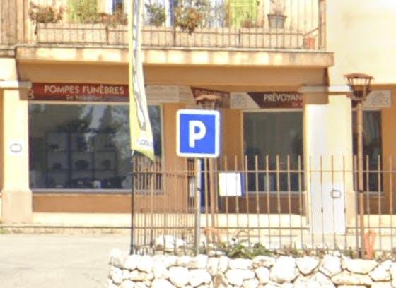 Photographie de la Pompes Funèbres de Roquefort