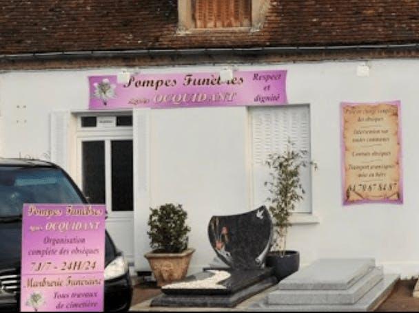 Photographie de la Pompes Funèbres Marbrerie Agnès Ocquidant