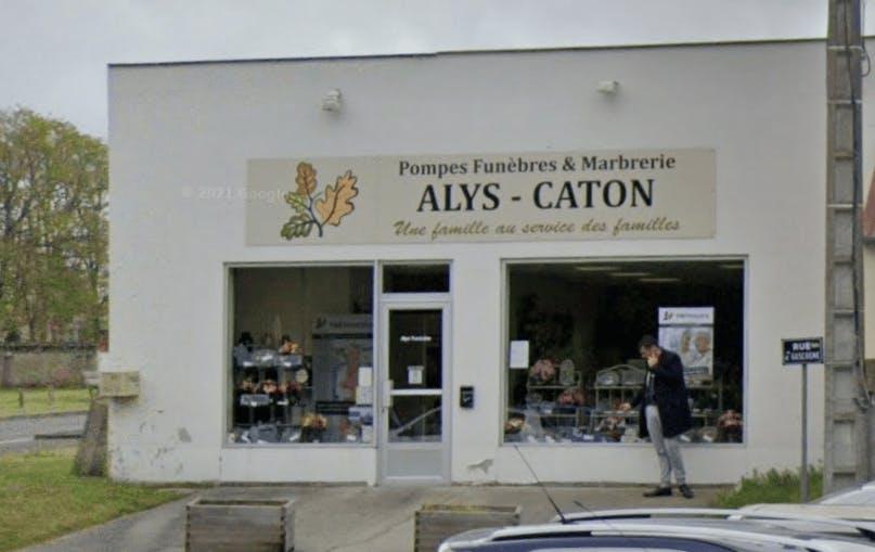 Photographie de la Pompes Funèbres Caton Alys