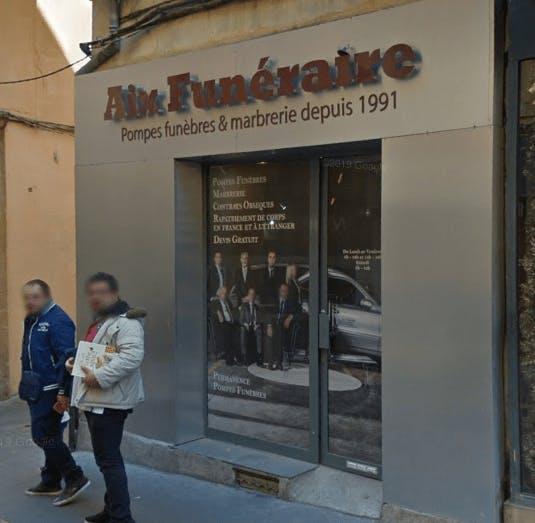 Photographie Pompes Funèbres Aix Funéraire d'Aix-en-Provence
