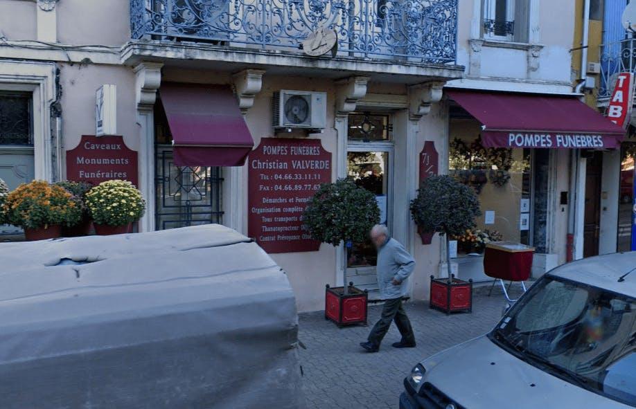 Photographie Pompes Funèbres Valverde Christian de Pont-Saint-Esprit