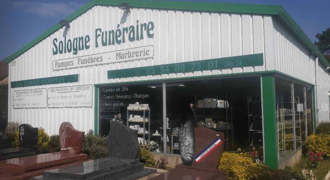 Photographie de la Sologne Funéraire