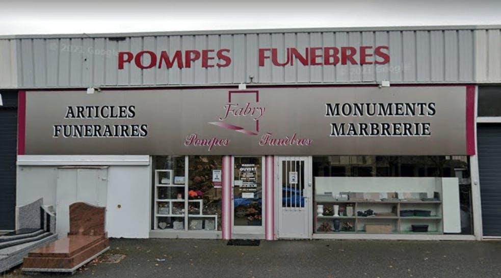 Photographie Pompes Funèbres Fabry de Rodez