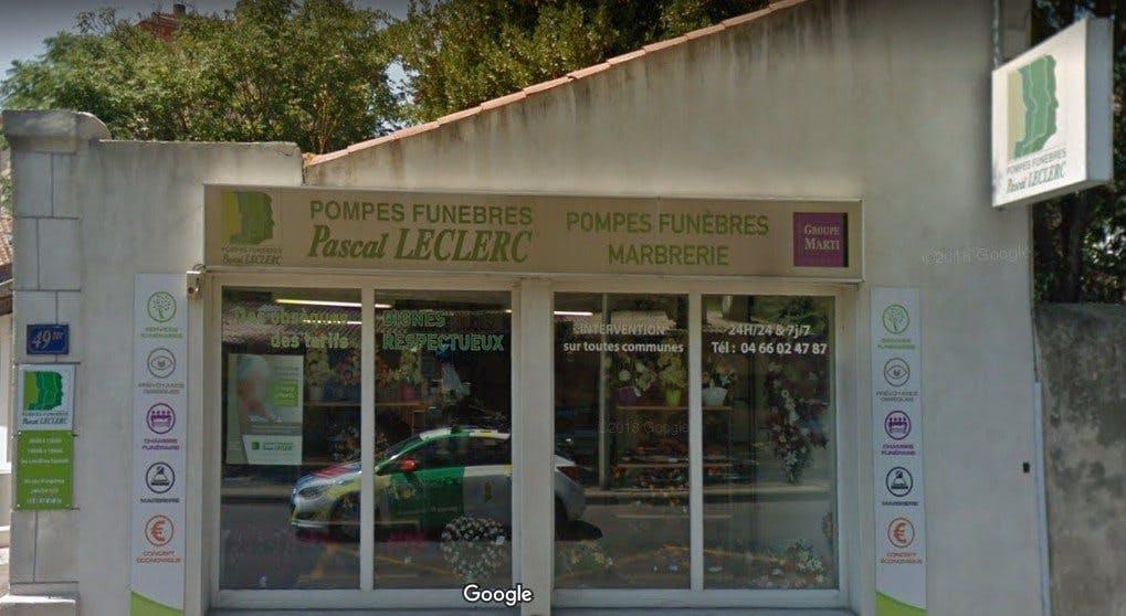 Photo de la Pompe Funèbre PASCAL LECLERC  Nîmes - Talabot
