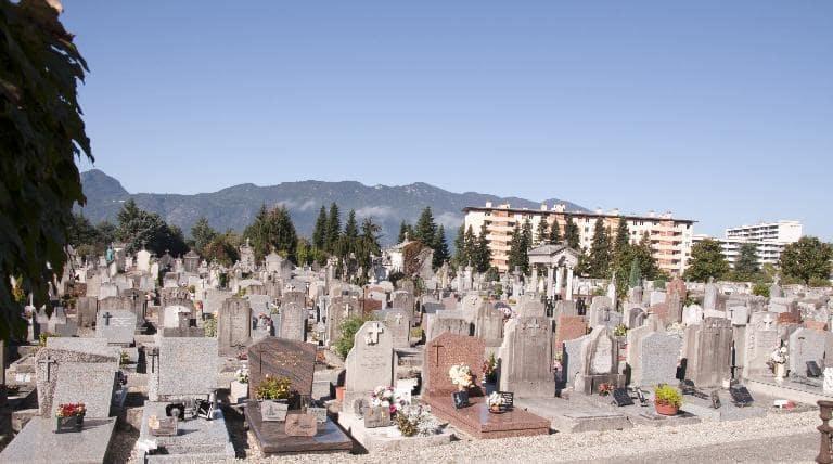 Cimetière Aix les bains - meilleures-pompes-funebres