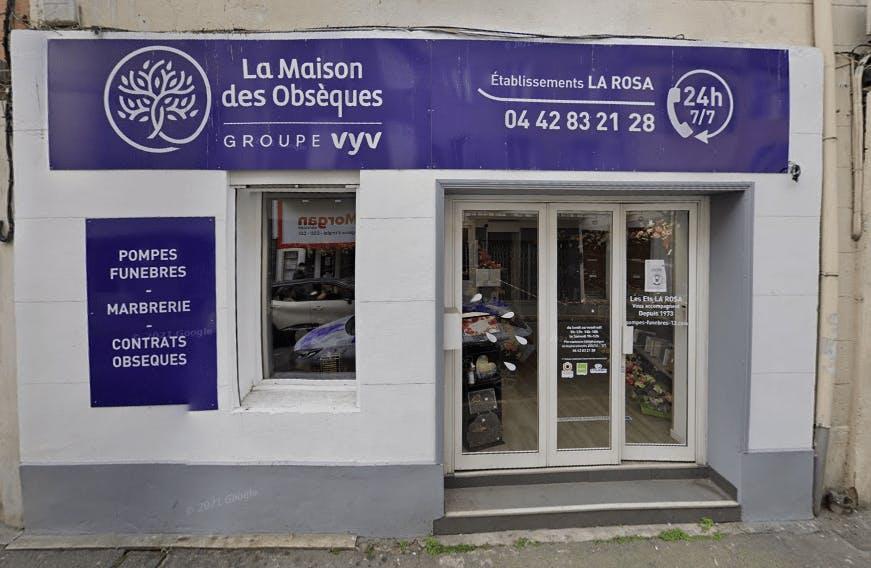 Photographie de la Pompes Funèbres La Maison des Obsèques Ets La Rosa