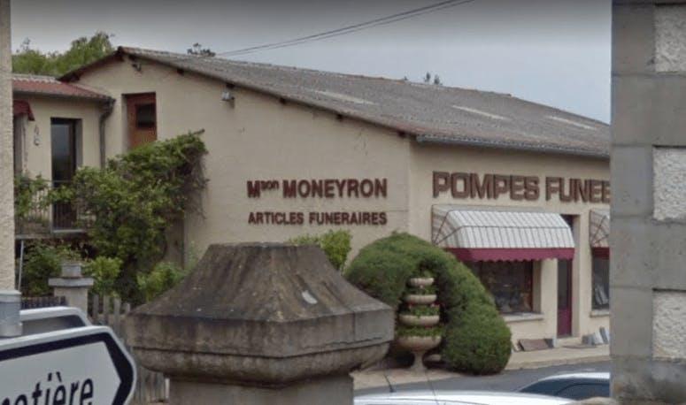 Photographie Pompes Funèbres Moneyron de Langeac
