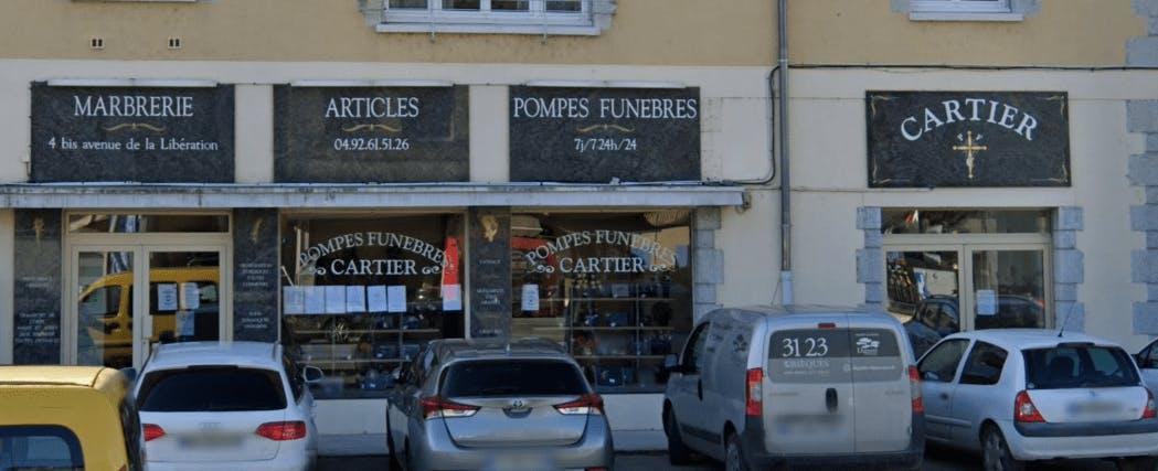 Photographie Pompes Funèbres et Marbrerie Cartier de Sisteron