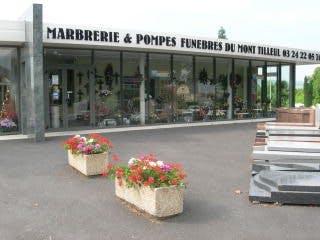 Photo de la Pompe Funèbre MARBRERIE DU MONT TILLEUL