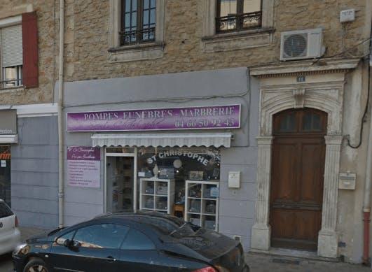 Photographie de Pompes Funèbres Marbrerie Saint-Christophe