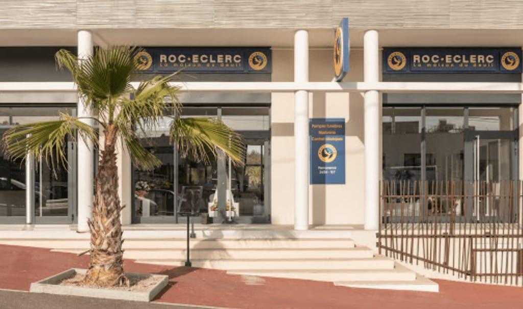 Photographie de la Pompes Funèbres ROC ECLERC