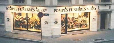 Photo de la Pompe Funèbre POMPES FUNEBRES FERNAND AUBRY