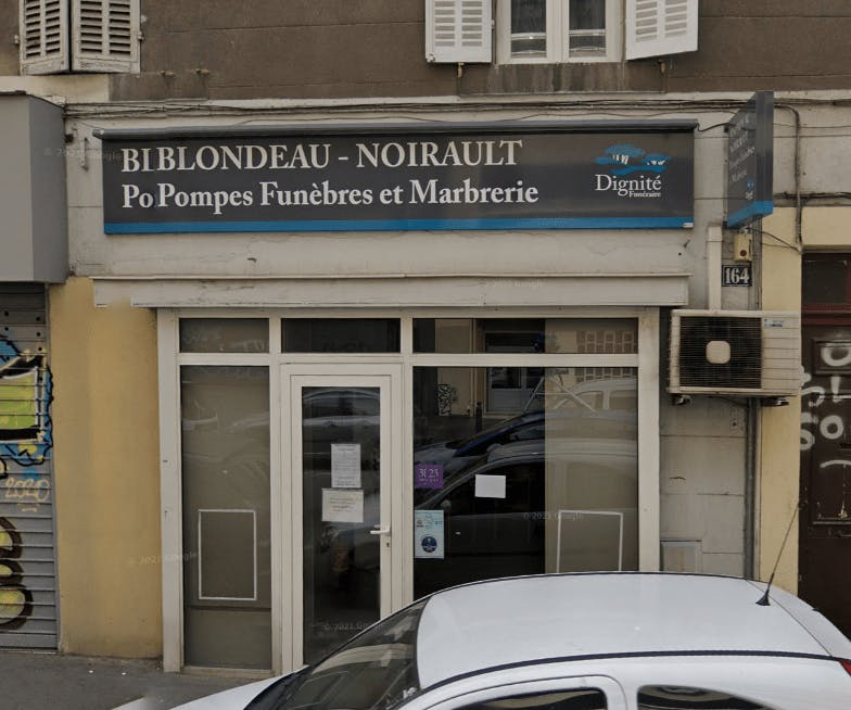Photographie de la Pompes Funèbres et Marbrerie Blondeau-Noirault - Dignité Funéraire