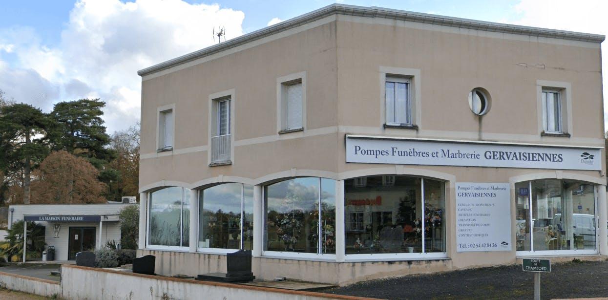 Photographie de la Pompes Funèbres et Marbrerie Gervaisiennes - Dignité Funéraire