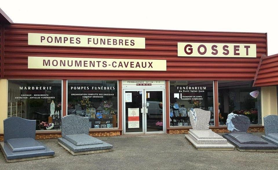 Photo de la Pompe Funèbre Marbrerie Pompes Funèbres GOSSET