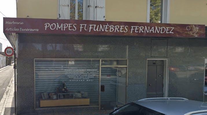 Photographie de la Pompes Funèbres Fernandez